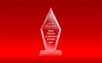 Best forex broker 2012